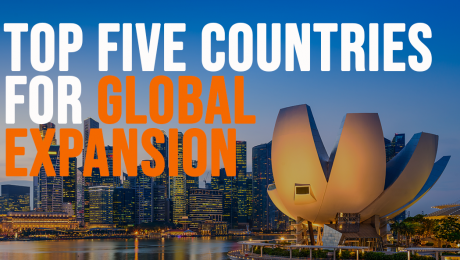top five countries for global expansion